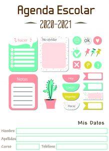 agenda escolar personalizada 3